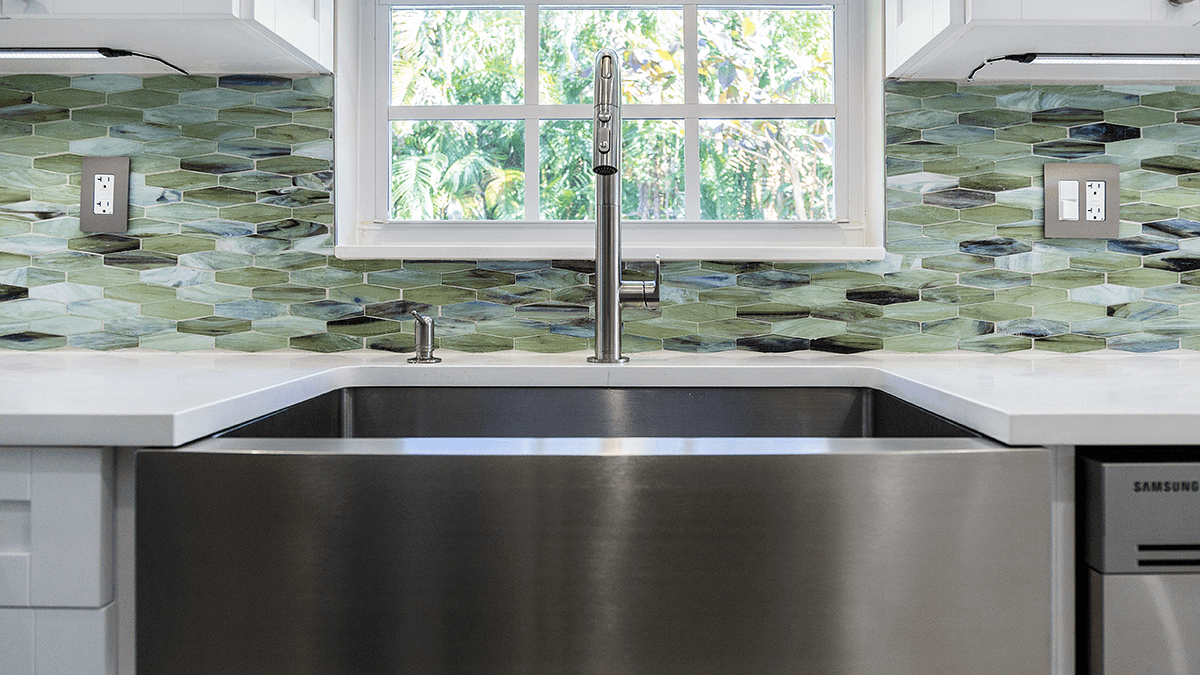farmhouse style stainless steel kitchen sink
