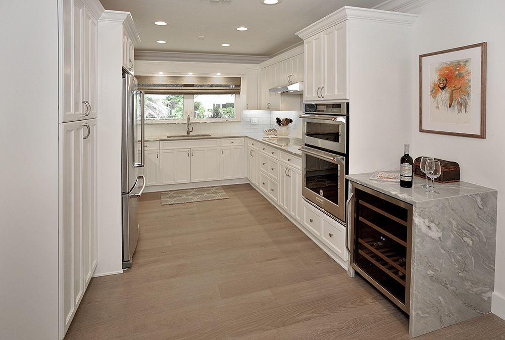Kitchen revival with painted cabinets