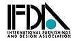 logo for international furnishings and design association