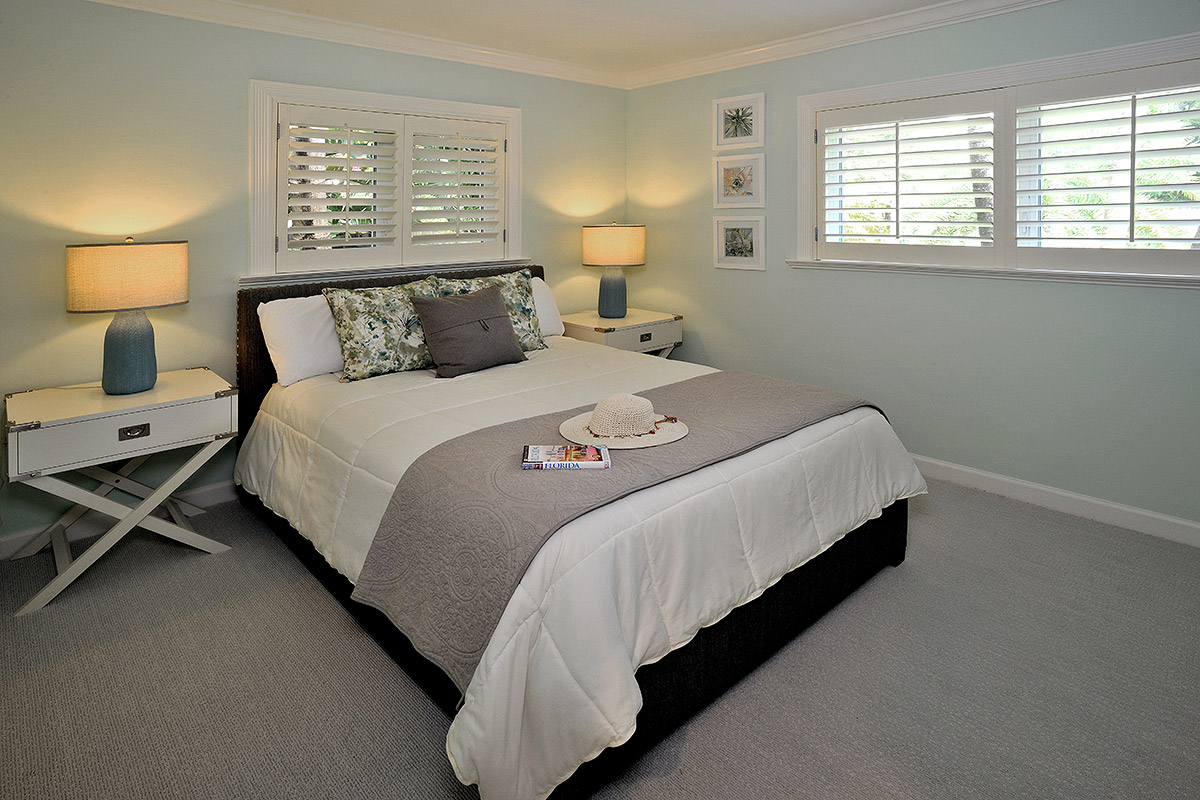 guest bedroom with a welcome feel
