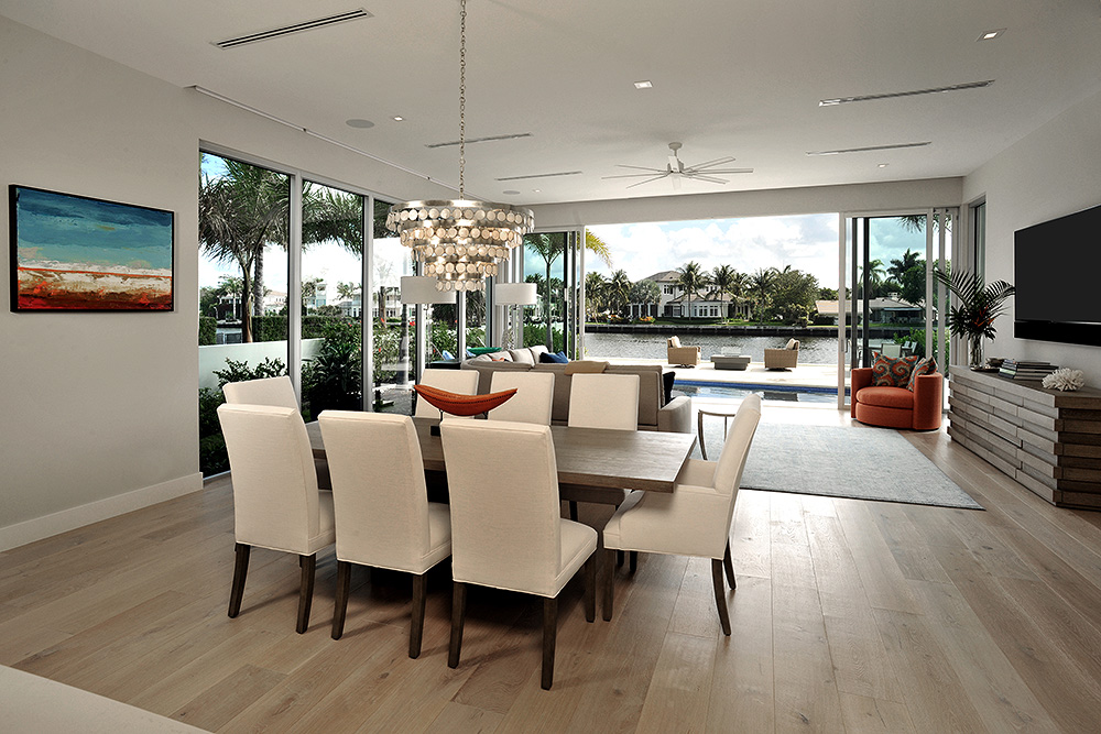 Indoor-Outdoor spaces connect for the best of coastal living